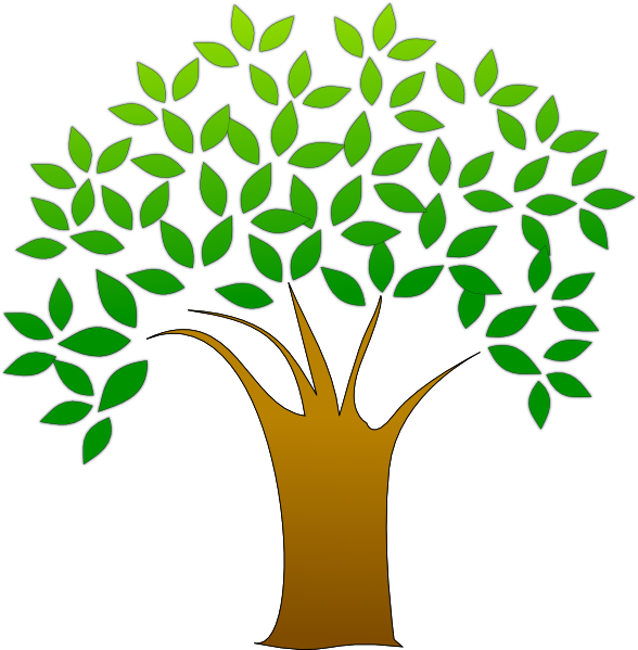 Clipart of tree with roots banner download Tree Clip Art at Clker.com - vector clip art online, royalty free ... banner download