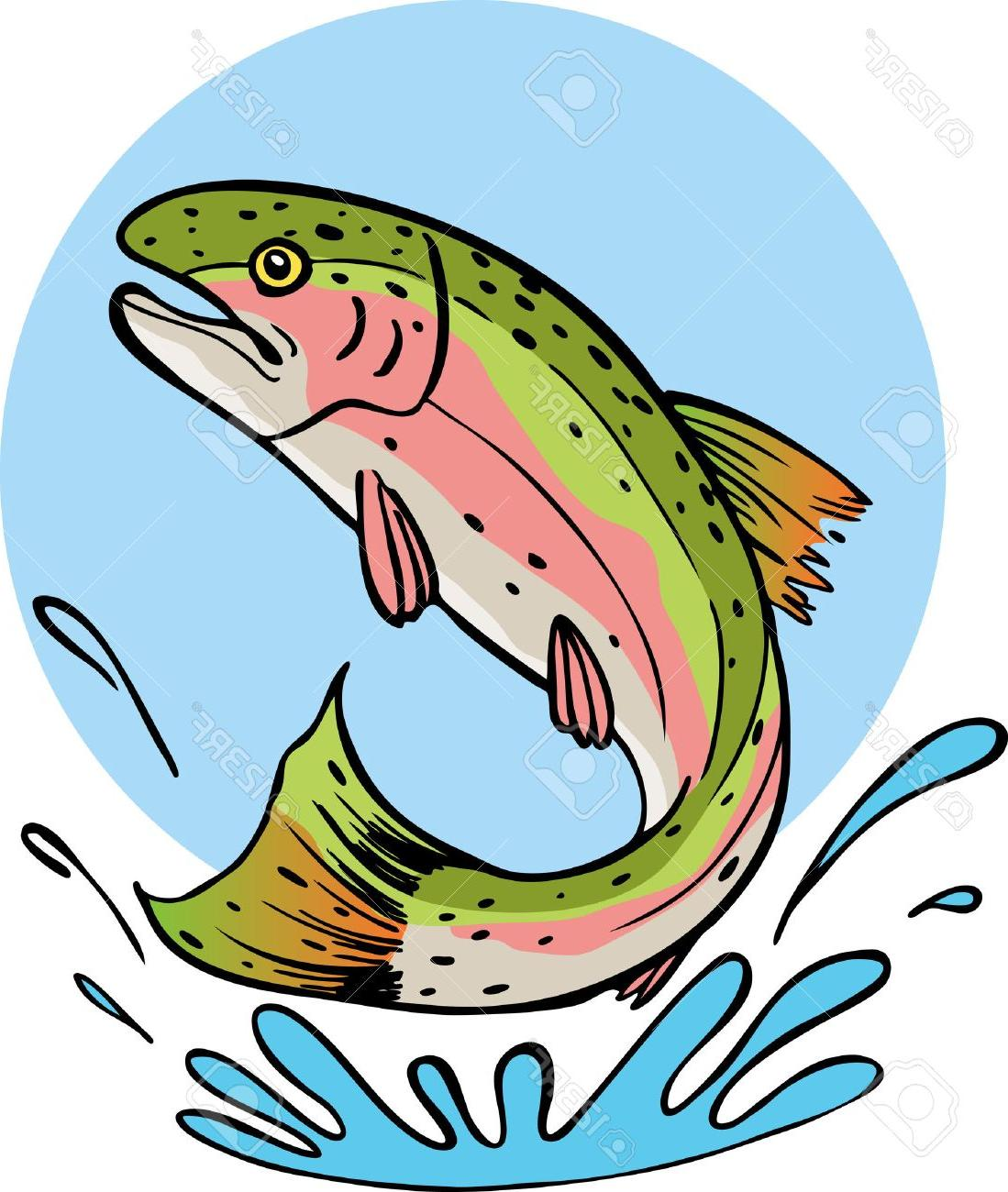 Trout clipart graphic freeuse download Top Trout Clip Art Vector Pictures » Free Vector Art, Images ... graphic freeuse download