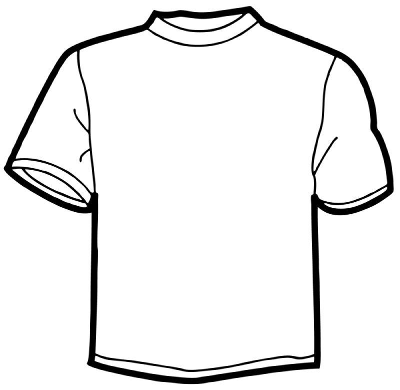 12 Online T Shirt Template Free Cliparts That You Can Download To ... clip freeuse download