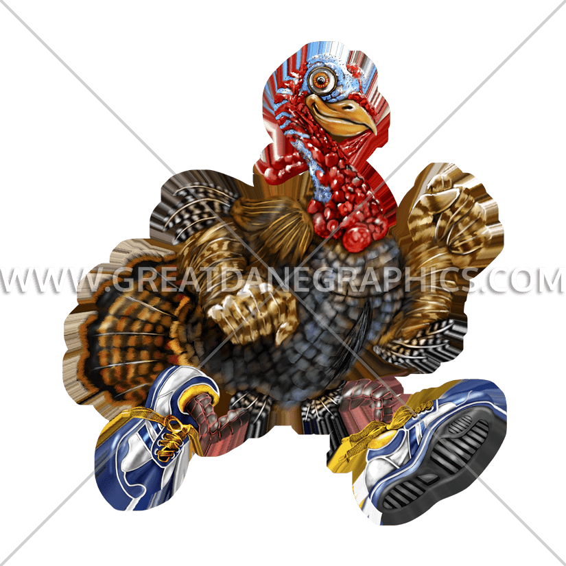 Turkey run clipart clipart transparent download Turkey Run | Production Ready Artwork for T-Shirt Printing clipart transparent download