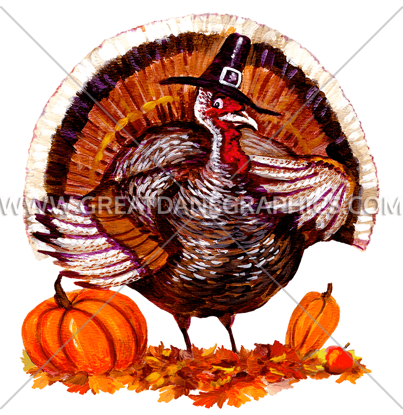 Fat Turkey | Production Ready Artwork for T-Shirt Printing png freeuse stock