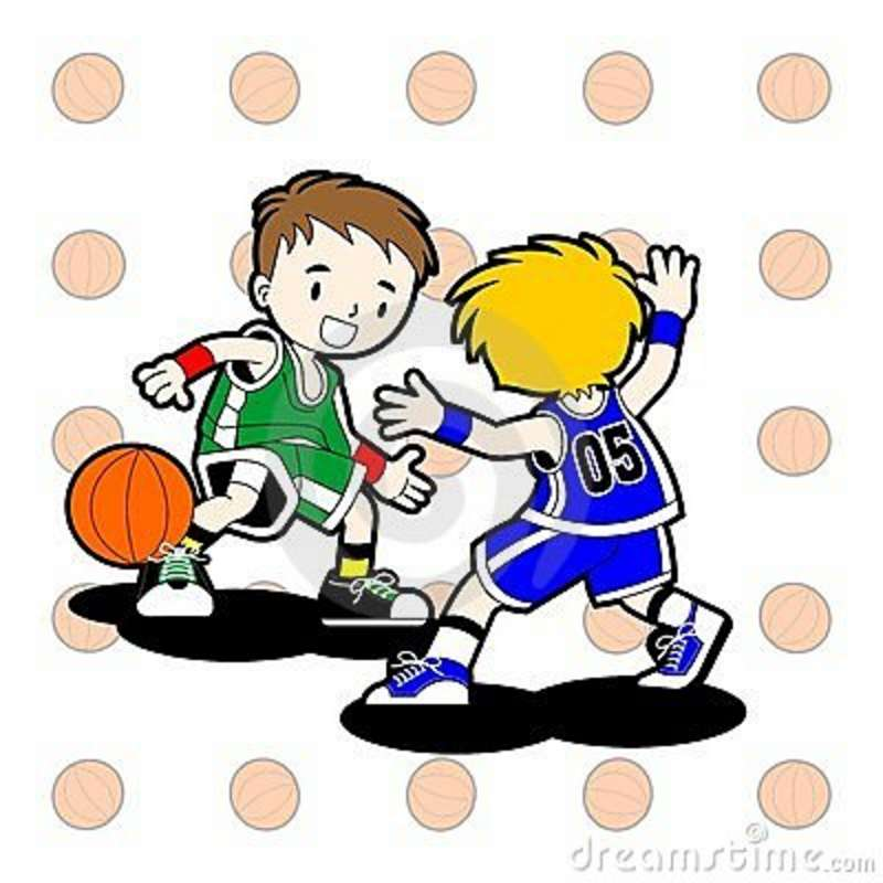 Clipart of two boys playing ball svg black and white download Free Kids Playing Basketball Clipart, Download Free Clip Art, Free ... svg black and white download