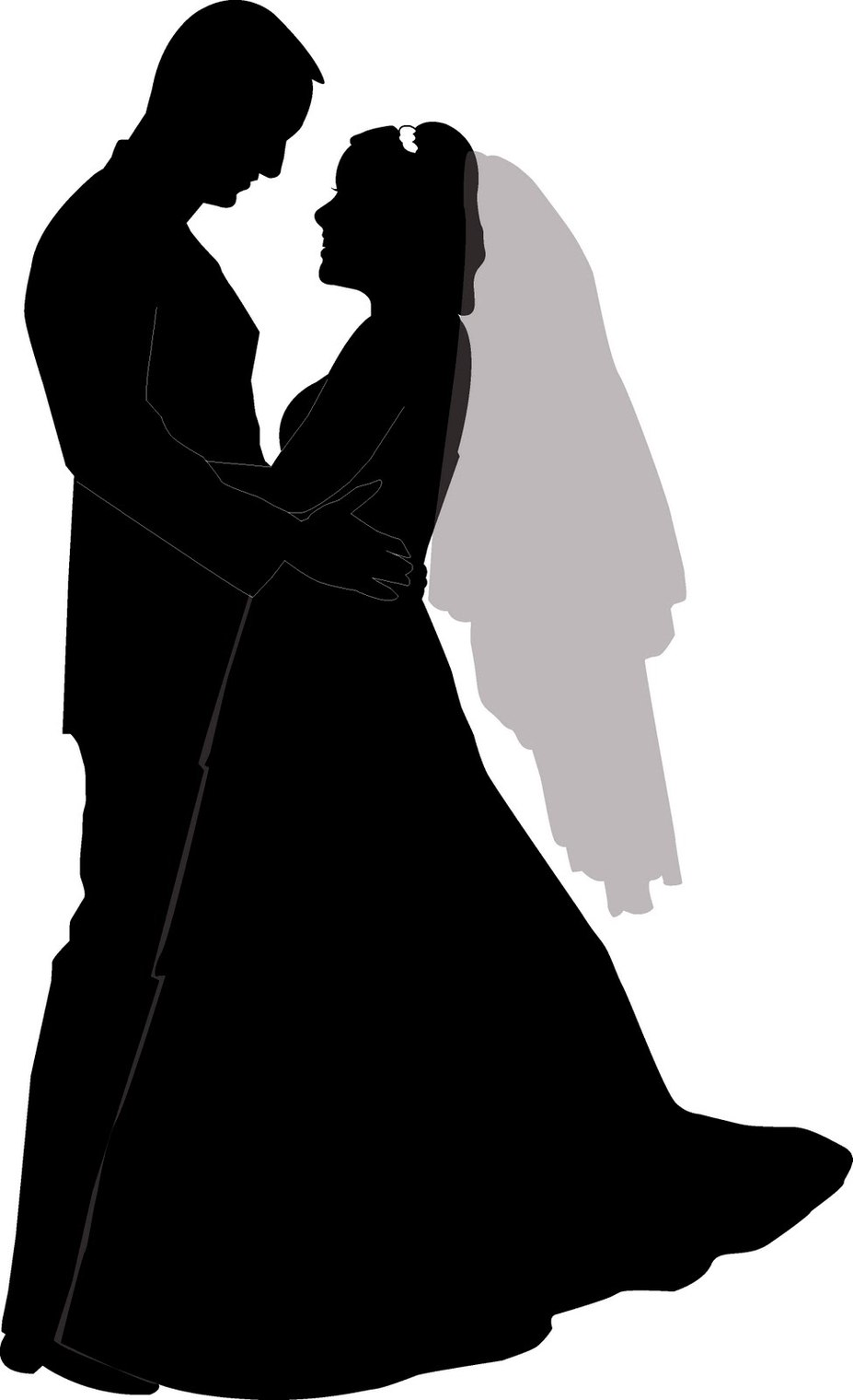 Clipart of two people wedding clipart freeuse library Clipart of two people wedding - ClipartFest clipart freeuse library