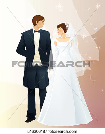 Clipart of two people wedding clip art free library Clipart of two people wedding - ClipartFox clip art free library
