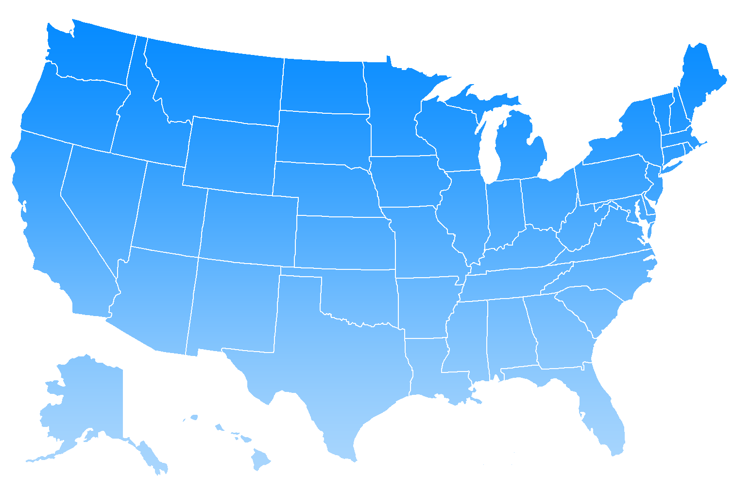 Clipart of united states svg free download Printable Blank Us Map With State Outlines - ClipArt Best svg free download