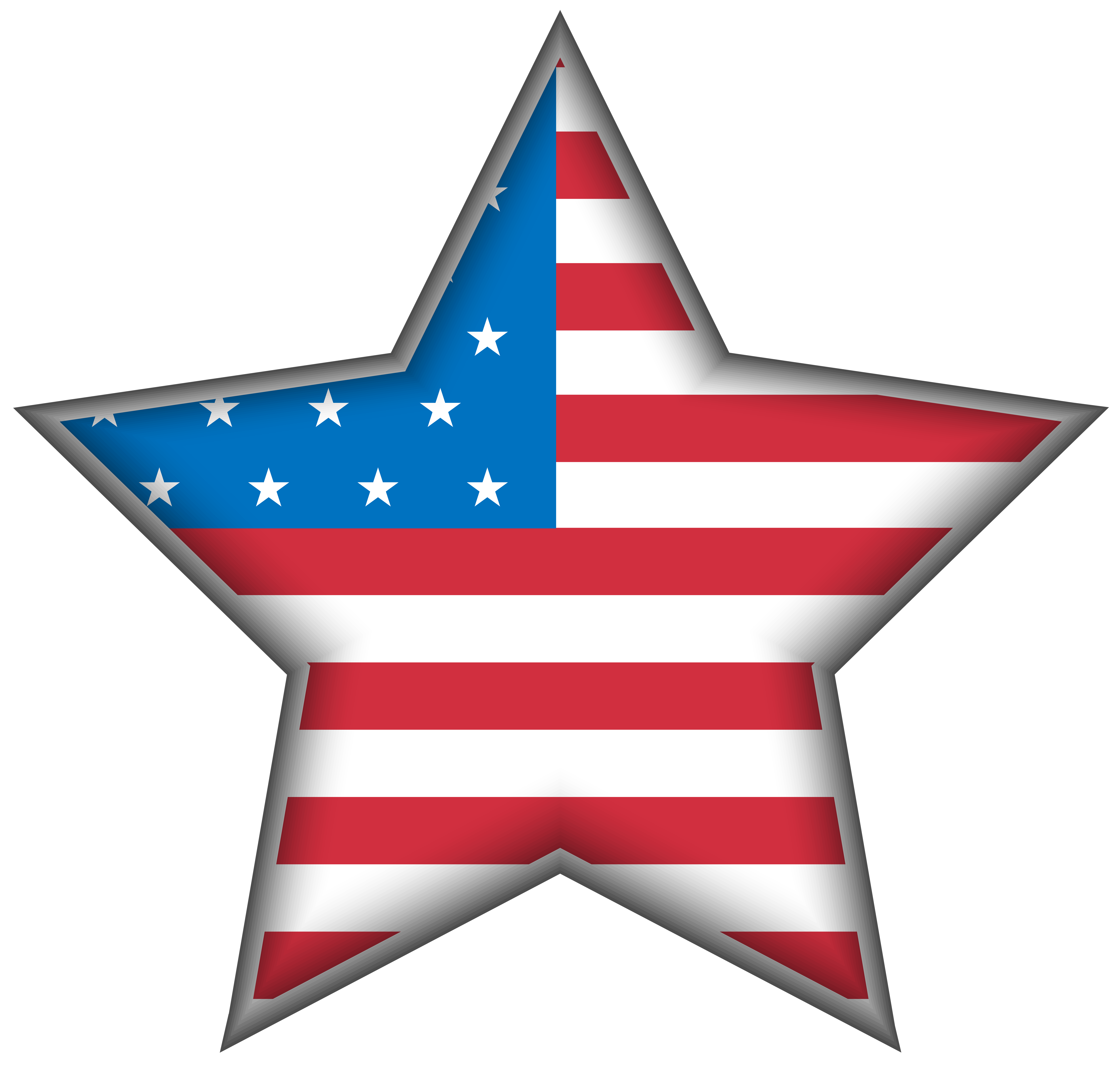Clipart of united states banner black and white stock USA Star PNG Clip Art Image | Gallery Yopriceville - High-Quality ... banner black and white stock