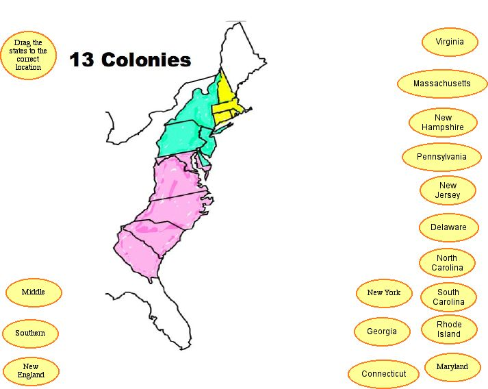 Clipart of united states map outline and 13 colonies jpg freeuse download Clipart of united states map outline and 13 colonies - ClipartFox jpg freeuse download
