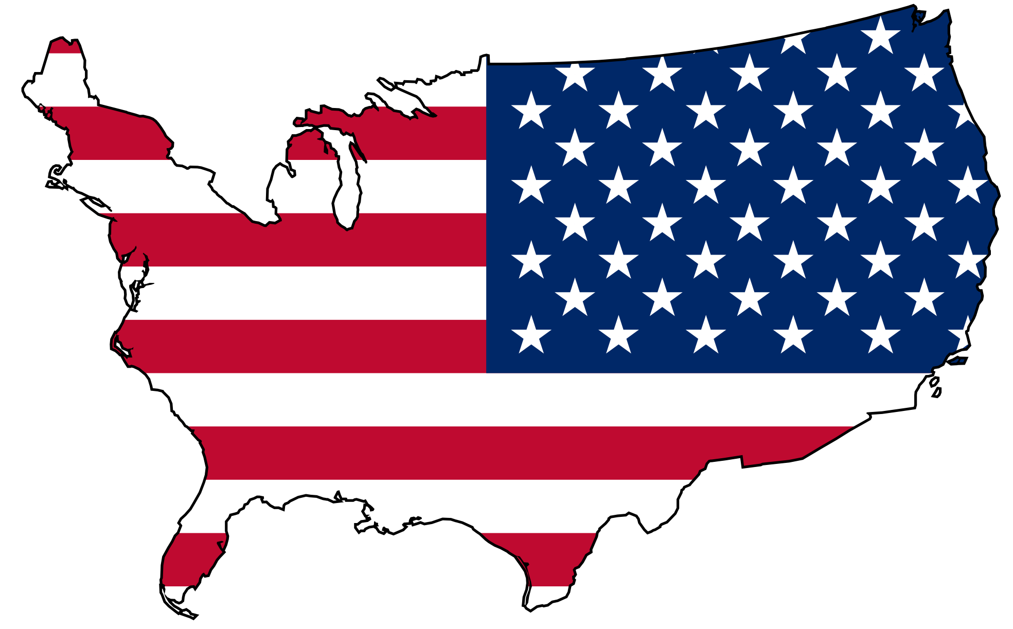 Clipart of us.  usa huge freebie