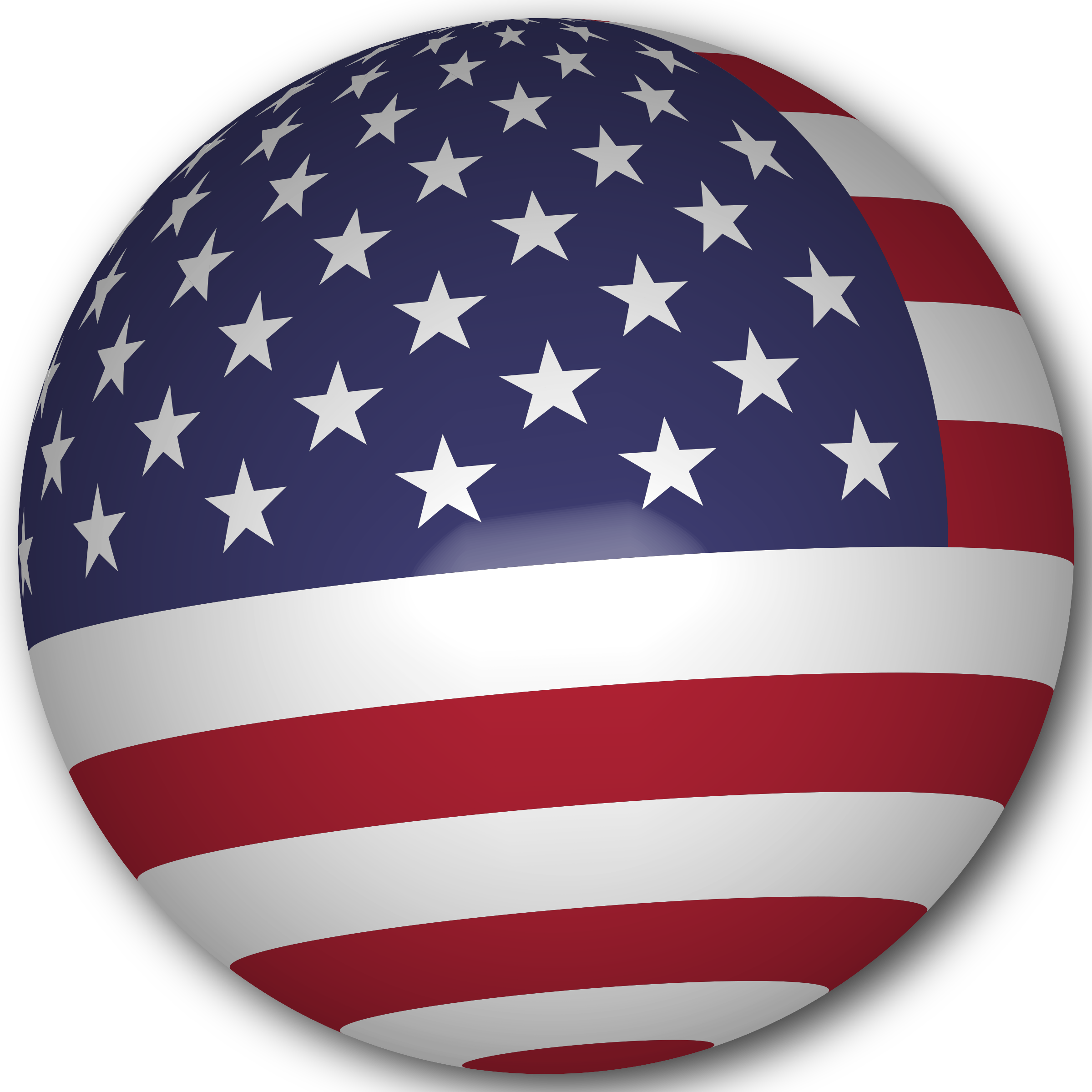 Clipart of us flag png freeuse stock Clipart - USA Flag Sphere png freeuse stock