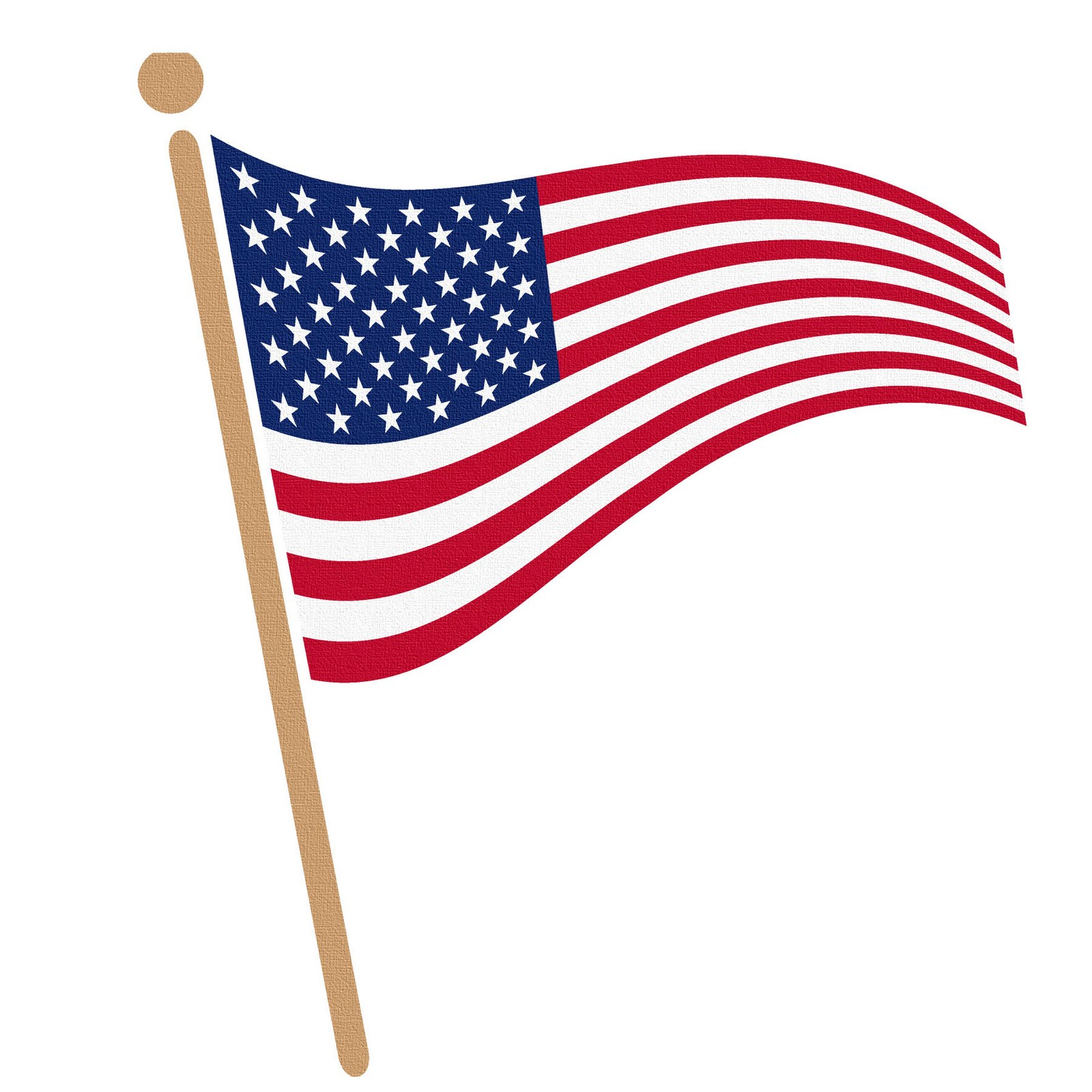 Usa kid waving american. Clipart of us flag