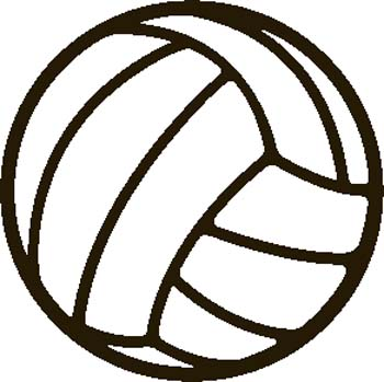 Volleyball images free clipart graphic black and white library Best Volleyball Clipart #1413 - Clipartion.com graphic black and white library