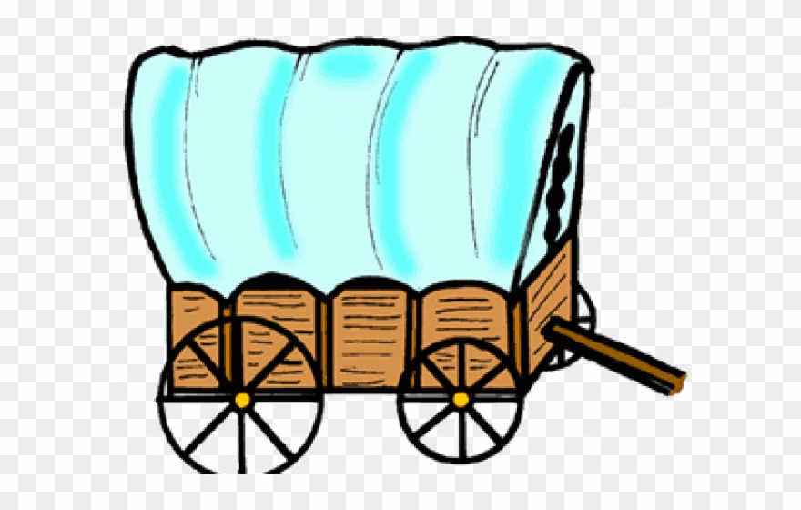 Clipart of wagon picture black and white stock Wagon Clipart Transparent - Covered Wagon Clip Art - Png Download ... picture black and white stock