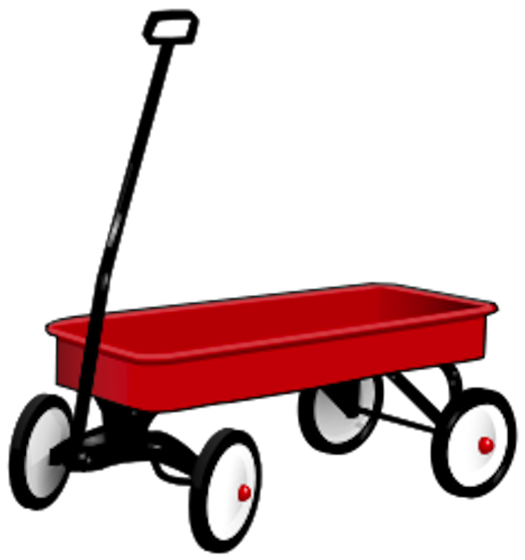 Red Wagon Clip Art Red wagon pictures - clipart | Wagon Study in ... clipart royalty free download