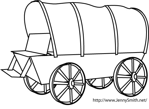 Clipart of wagon image freeuse download 92+ Covered Wagon Clipart | ClipartLook image freeuse download