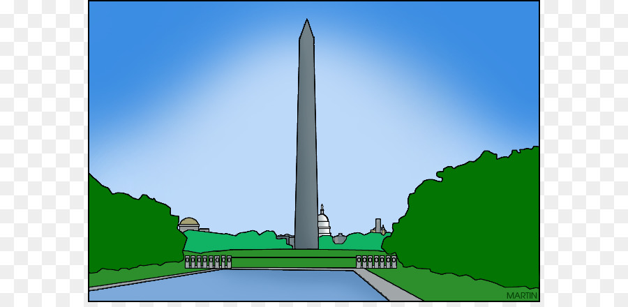 Clipart of washington monument clipart transparent library Independence Day Cartoon png download - 648*433 - Free Transparent ... clipart transparent library