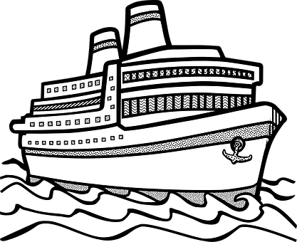 Clipart of water transport black and white vector royalty free library Water transportation clipart black and white 2 » Clipart Station vector royalty free library