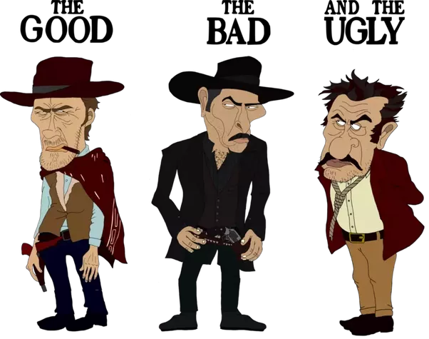 Clipart of western bad man jpg stock Should I watch The Good, The Bad and The Ugly? - Quora jpg stock