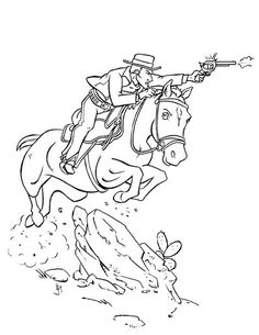 Clipart of western bad man. Clipartfest cowboy shooting guy