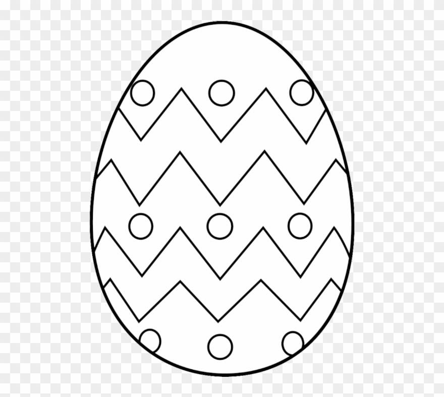Easter egg black and white clipart graphic black and white library Free Egg Free Clip Art Of Egg Clipart Black And White - Easter Egg ... graphic black and white library