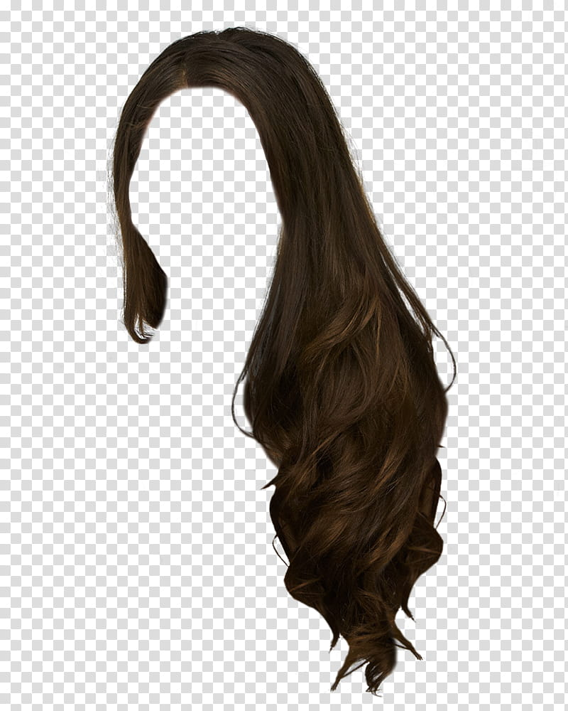 Clipart of wig png free stock Hair , women\'s brown wig transparent background PNG clipart | HiClipart png free stock