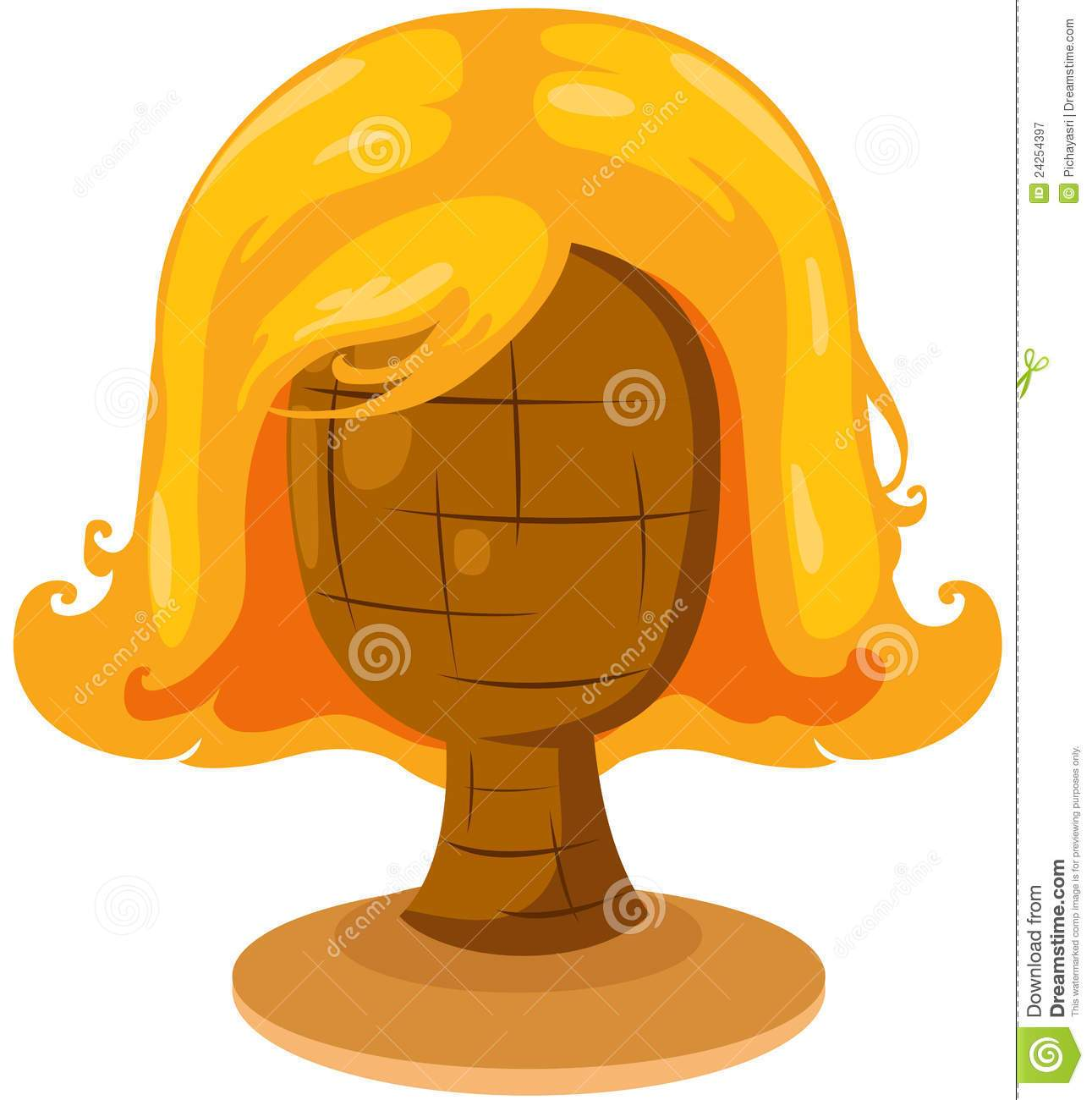 Clipart of wig clipart transparent library Wig clipart 2 » Clipart Portal clipart transparent library
