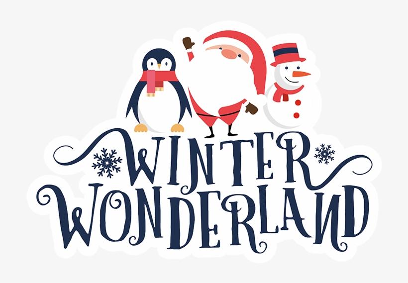 Winter wonderland clipart transparent background banner black and white Winter Wonderland - Winter Wonderland Clipart - Free Transparent PNG ... banner black and white