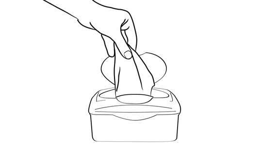 Clipart of wiping hands with disposable wipes clipart freeuse stock How To Wipe Your Butt | A Practical Step-By-Step Guide to Keeping a ... clipart freeuse stock