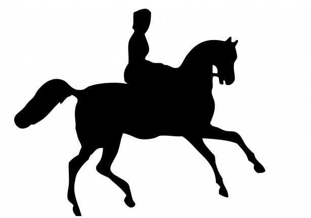 Clipart of woman riding a horse silhouette clip art freeuse download Horse Rider Silhouette Clipart Free Stock Photo - Public Domain Pictures clip art freeuse download