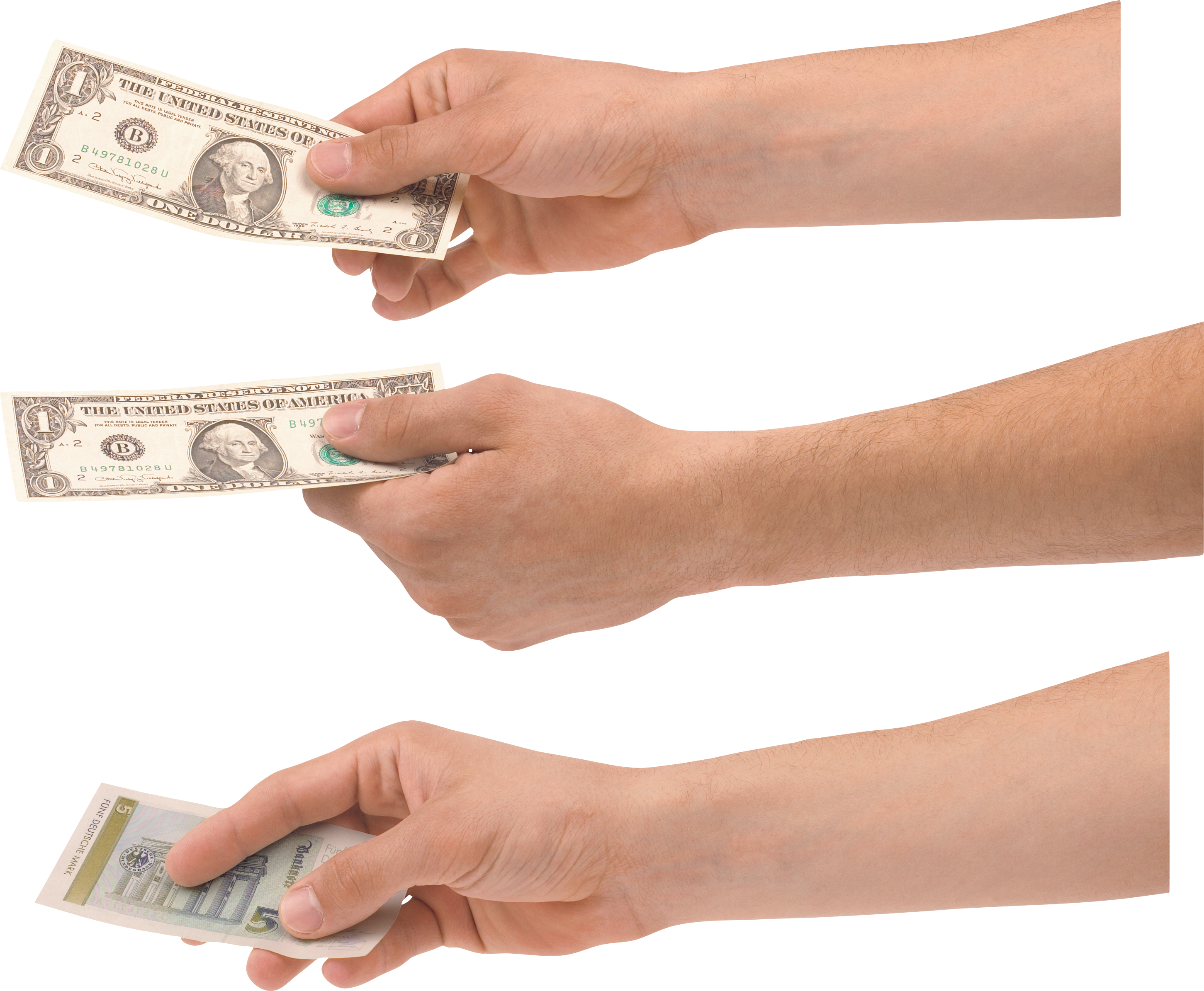 Hand with money clipart jpg free download Hand Holding Money One | Isolated Stock Photo by noBACKS.com jpg free download