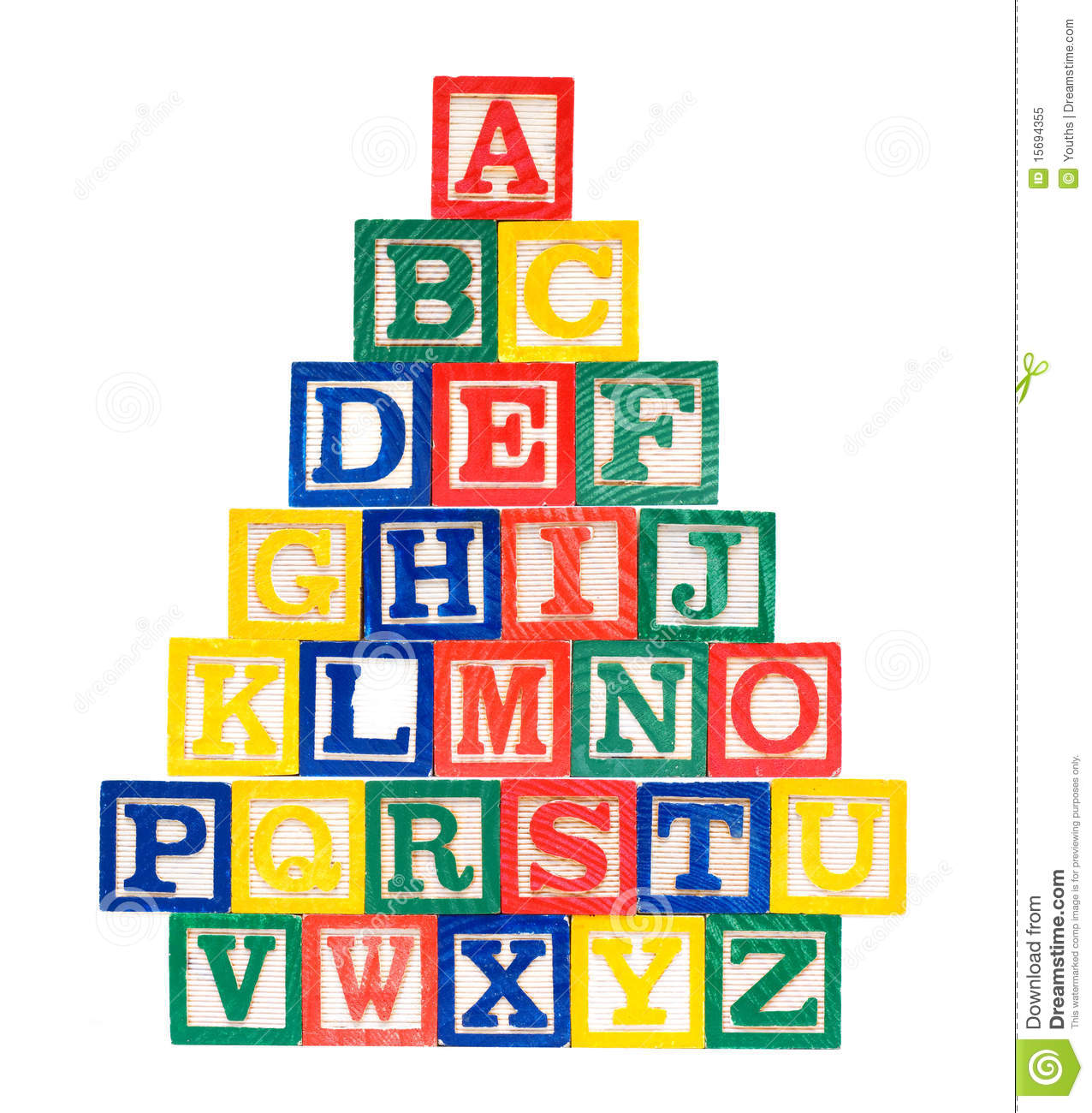 Clipart of wooden blocks with alphabet letter. Clipartfest royalty