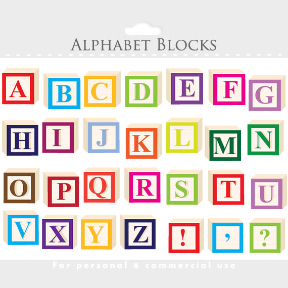 Clip art letterblocks . Clipart of wooden blocks with alphabet letter