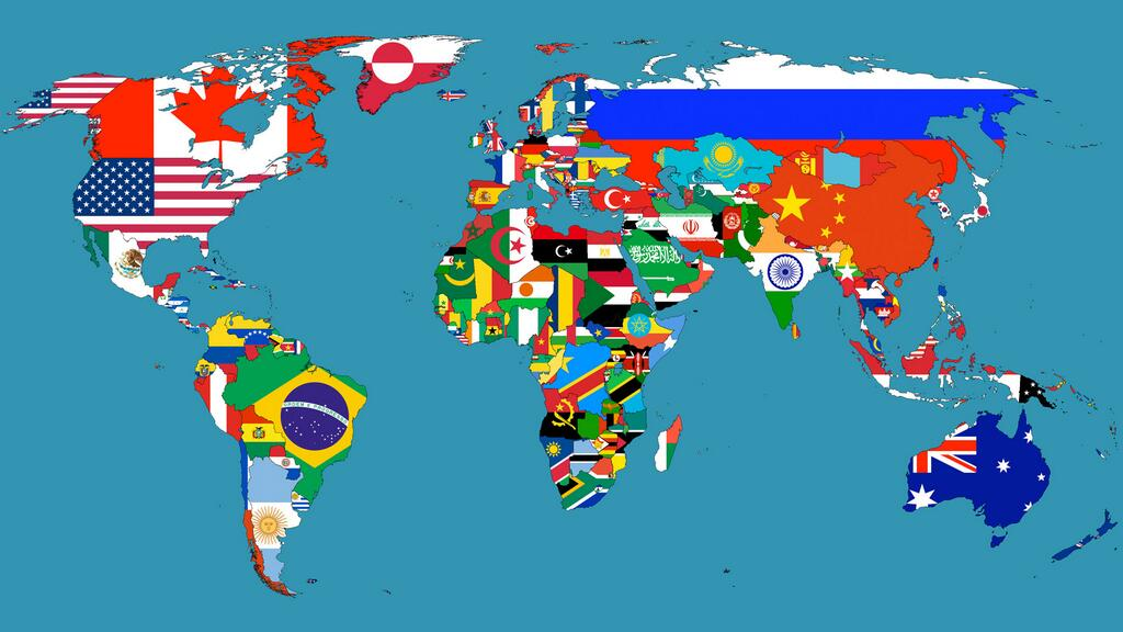 Clipart of world map graphic transparent Clipart world map - ClipartFest graphic transparent
