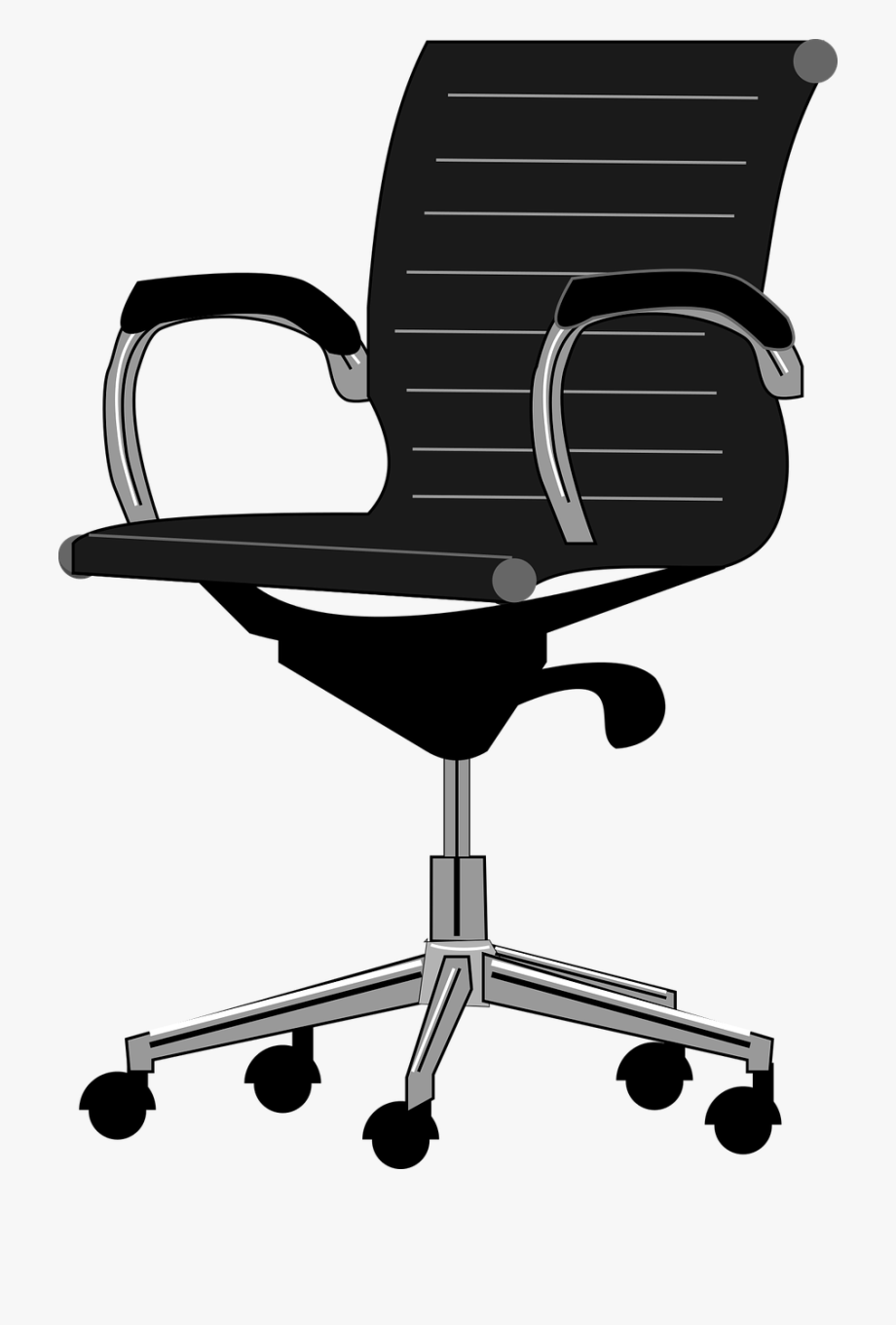 Office chair clipart image transparent stock Office Chair - Office Chair Clipart #99071 - Free Cliparts on ... transparent stock