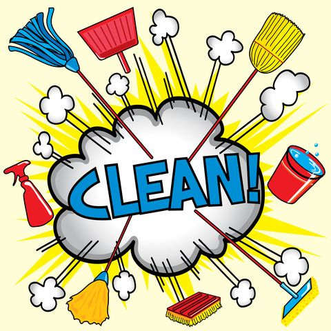 Clipart office cleaning image royalty free That Has All My Cleaning Supplies The Ladies Who Cleaned My Home ... image royalty free