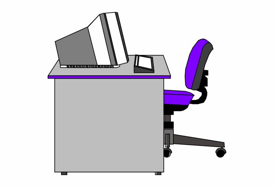 Clipart office furniture black and white stock Transparent Office Clipart Free PNG Images & Clipart Download ... black and white stock