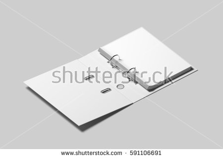 Clipart office open binder filled with paper banner royalty free library Binder Stock Images, Royalty-Free Images & Vectors | Shutterstock banner royalty free library