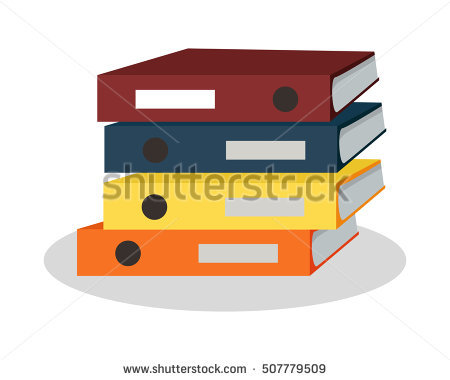 Clipart office open binder filled with paper clip freeuse Binder Stock Images, Royalty-Free Images & Vectors | Shutterstock clip freeuse