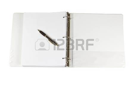 Clipart office open binder filled with paper png freeuse library Ring Binder Images & Stock Pictures. Royalty Free Ring Binder ... png freeuse library