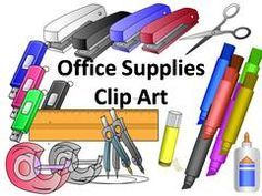 Clipart office supplies png freeuse download Office Supplies, Clip Art, | Clipart Panda - Free Clipart Images png freeuse download