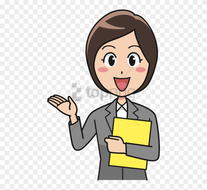Clipart office workers jpg library Free Png Woman Worker Png Image With Transparent Background - Office ... jpg library