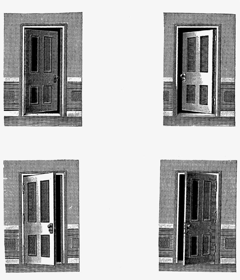 Clipart old door svg freeuse download Open Door Clipart Old Door - Door Vintage Clipart Transparent PNG ... svg freeuse download