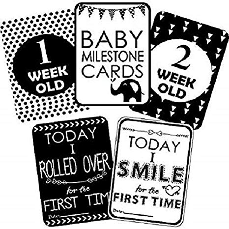 Clipart old time mom working black and white vector library stock Kala Decorators Set of 27 Baby Shower Black and White Milestone Cards -  Baby Shower Cards - Baby Shower Gift - Baby Shower Journal - New Mom Gift -  ... vector library stock