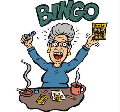 Woman playing bingo clipart clip black and white stock Free Bingo Clipart, Download Free Clip Art, Free Clip Art on Clipart ... clip black and white stock