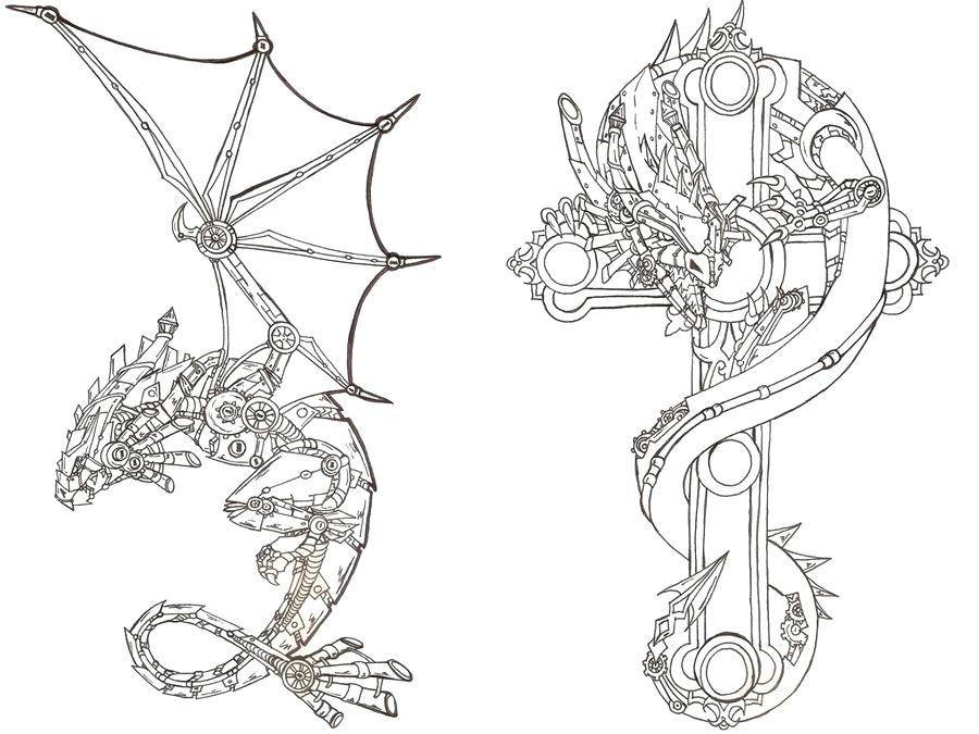 Clipart oldies music basil greg free download mp3 clip art freeuse download Steampunk dragon coloring pages - 15 linearts for free coloring on ... clip art freeuse download