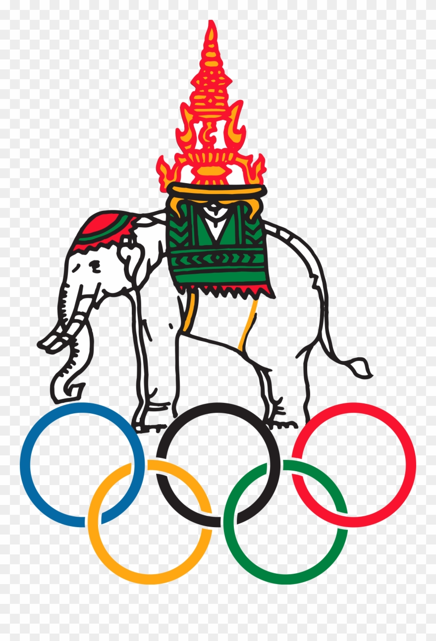 Clipart olympic committee jpg black and white download National Olympic Committee Of Thailand Sport Logos - National ... jpg black and white download