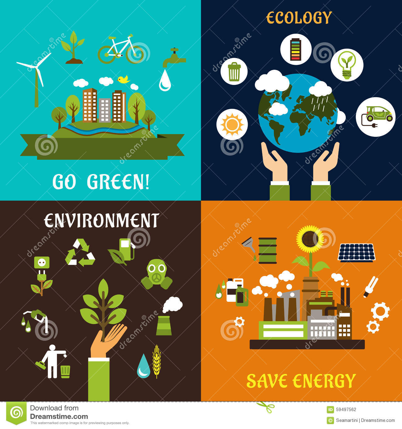 Clipart on save energy save environment png royalty free stock Environment, Ecology And Save Energy Icons Stock Vector - Image ... png royalty free stock