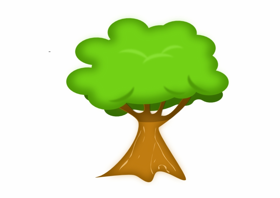 Clipart on tree fruit of knowledge and the cross graphic black and white download Animated Trees - Clipart Library - Cartoon Tree Transparent ... graphic black and white download