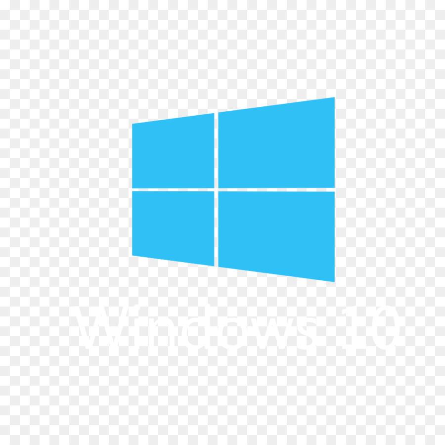 Windows 10 clipart location vector library Windows 10 Logo clipart - Computer, Font, Blue, transparent clip art vector library