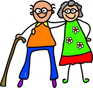 Clipart opa picture black and white library Elderly Fall Prevention Clipart - Clipart Kid picture black and white library