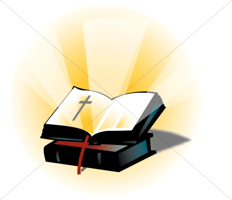 Open bible images clipart vector library stock Open Bible on a Closed Bible | Bible Clipart vector library stock